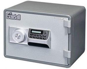 Gardall MS912-G-E w One Hour Horizontal Microwave Style Fire Safe with Electronic Lock