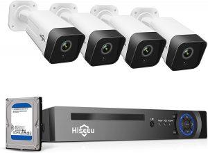 Hiseeu 5MP PoE Security Camera System