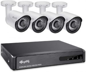 Kingkong Smart 5 in 1 Home Security Camera System