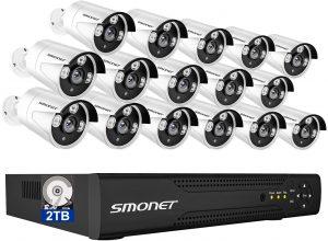 SMONET 5MP Lite Security Camera System