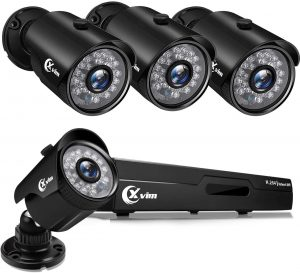 XVIM 1080P Wired Home Security Camera System